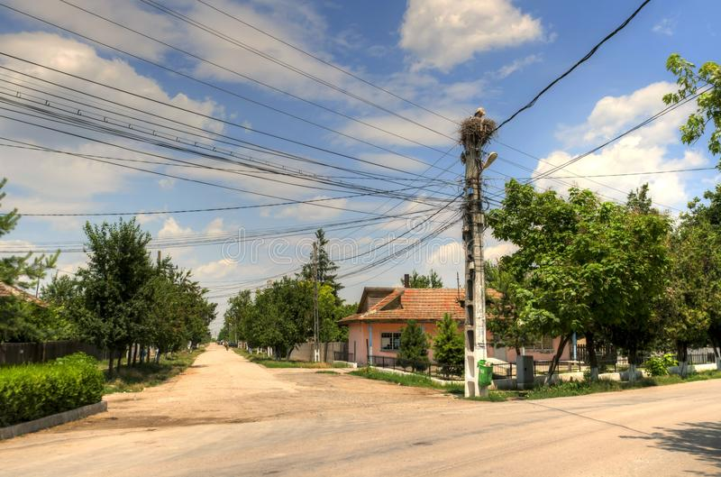 Download Country side view stock image. Image of nest, romania - 20167247