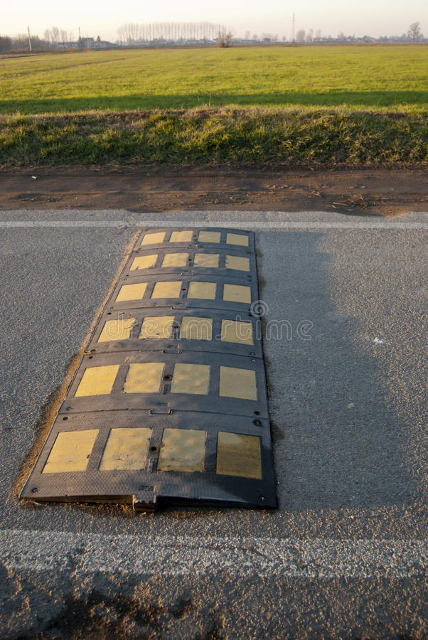 Download Country speed bump stock image. Image of obstacle, policeman - 22593109