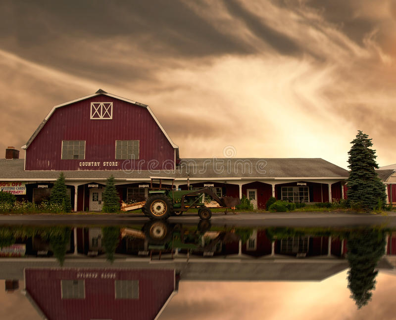 Download Country store scene stock photo. Image of building, trees - 20517076