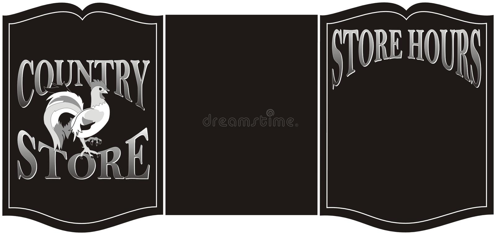 Download Country Store Sign Stock Image - Image: 122381