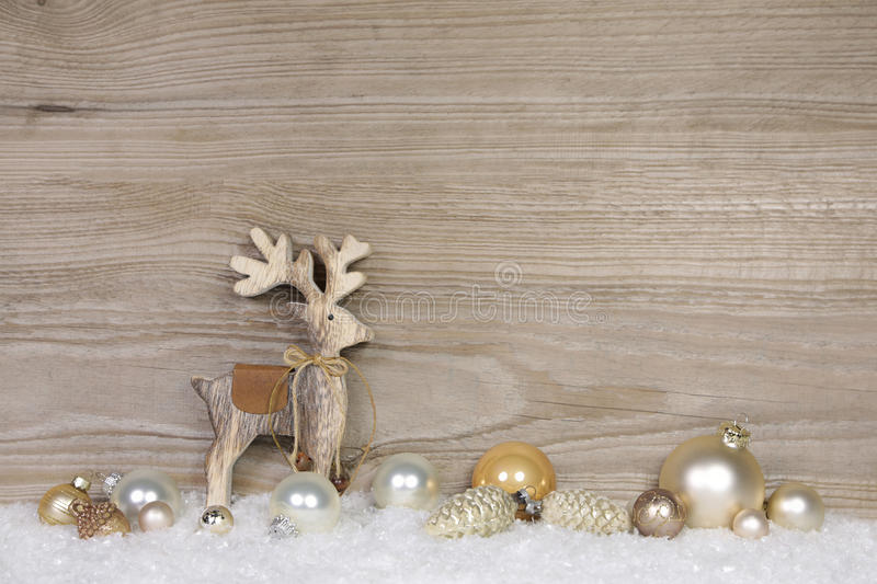 Download Country Style Christmas Decoration For A Greeting Card With Wood Stock Photo - Image of shinny, coupon: 60884192