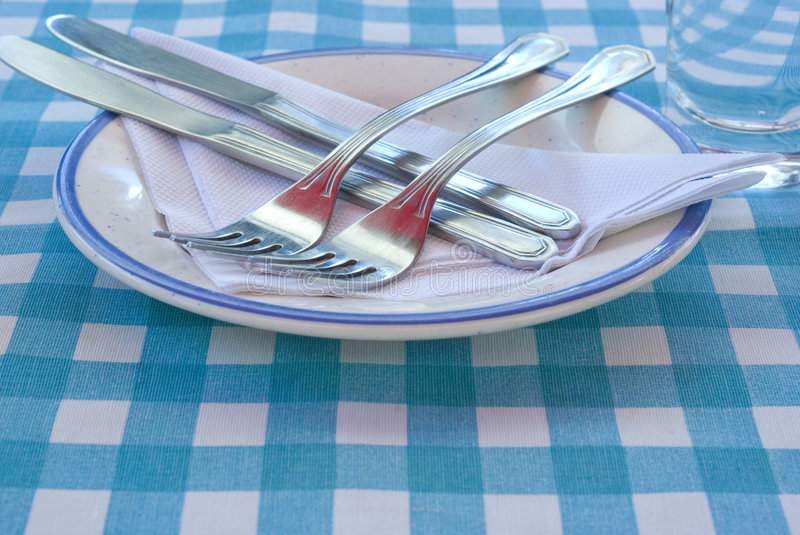 Country style restaurant stock image