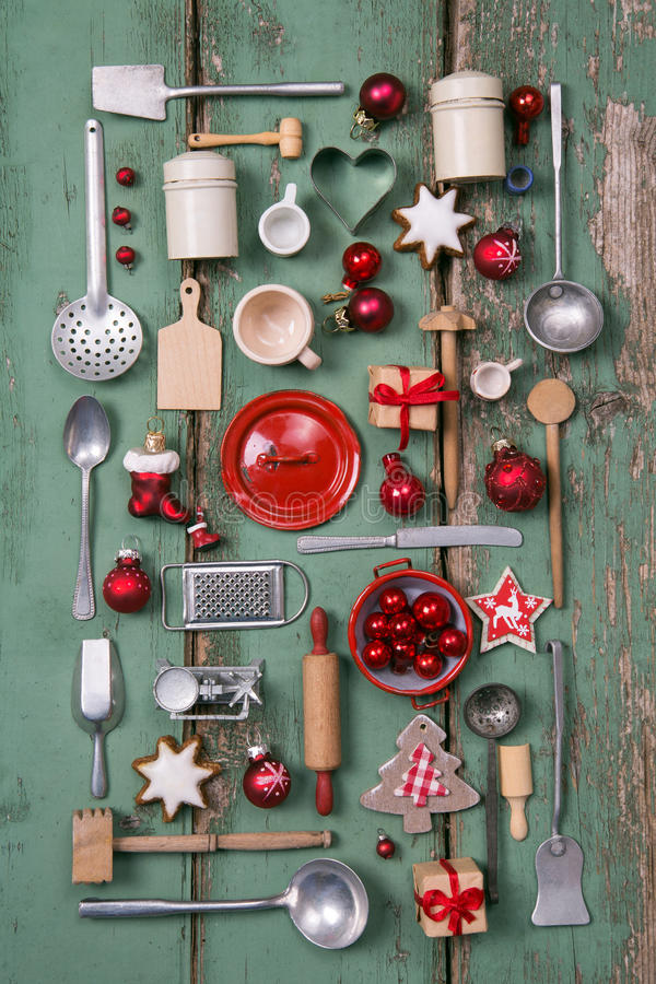 Country Style Or Wooden Vintage Christmas Background For