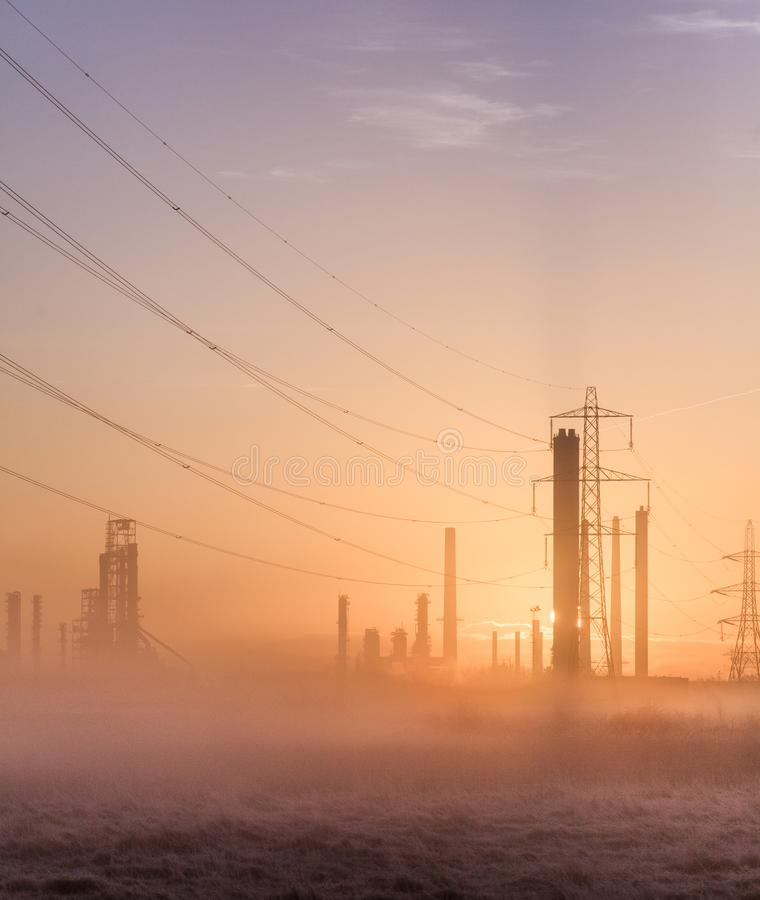 Morning Pollution 3 royalty free stock photo