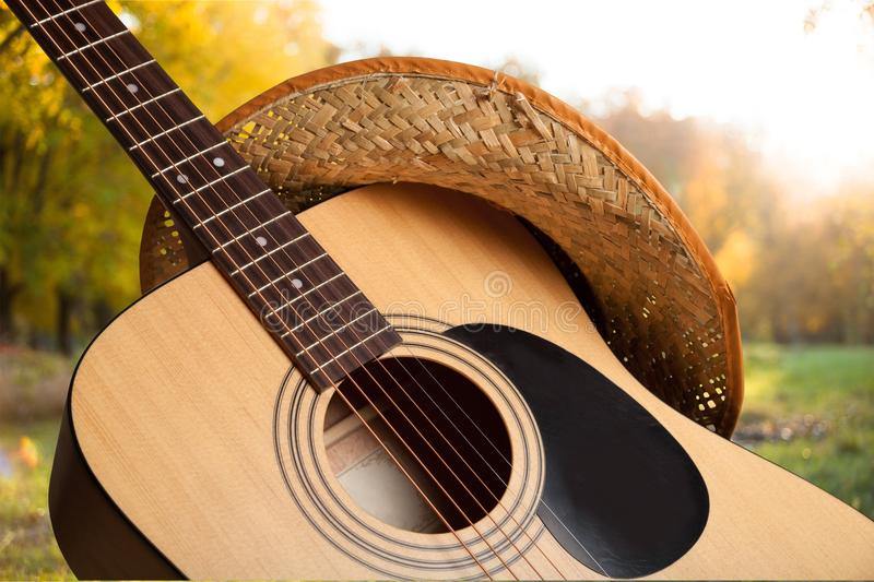 Country and western music. Non-urban scene music guitar bluegrass popular music concert music festival stock photography
