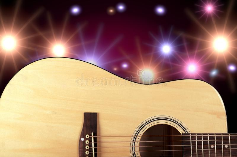 Country and western music. Non-urban scene music guitar bluegrass popular music concert music festival royalty free stock image