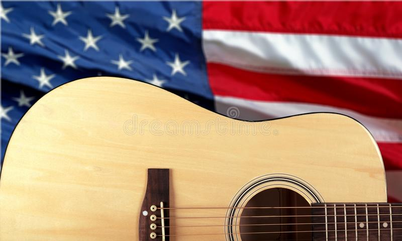 Country and Western Music. Non-Urban Scene Music Guitar Popular Music Concert Music Festival American Culture royalty free stock photo