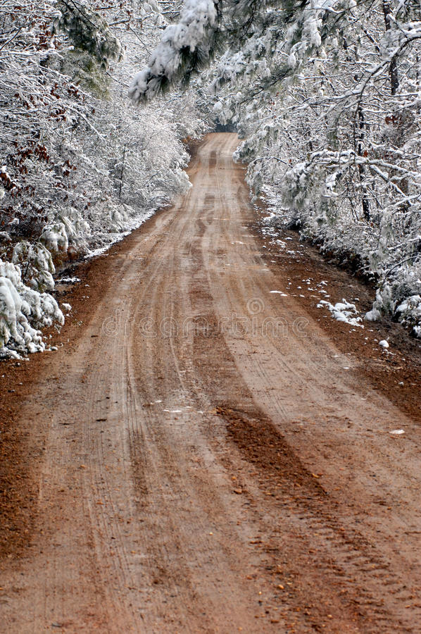 Free Country Winter Tunnel Stock Image - 13937301