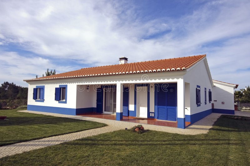 Download Countryhouse in Portugal stock image. Image of portuguese - 4391409