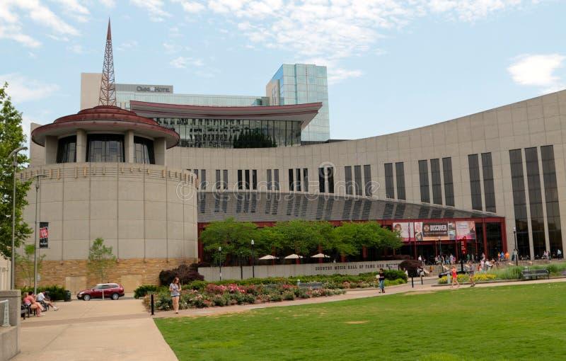 Countrymusiken Hall av berömmelse, Nashville Tennessee royaltyfri fotografi