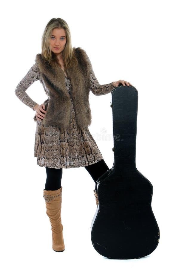 Countrymusikstern lizenzfreie stockfotos