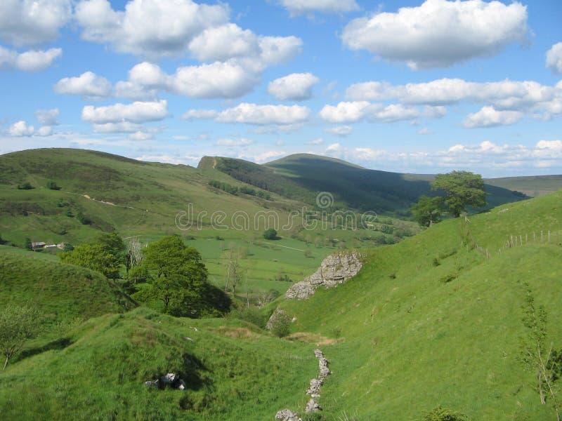 Download Countryshire Derbyshire obraz stock. Obraz złożonej z chmury - 141801