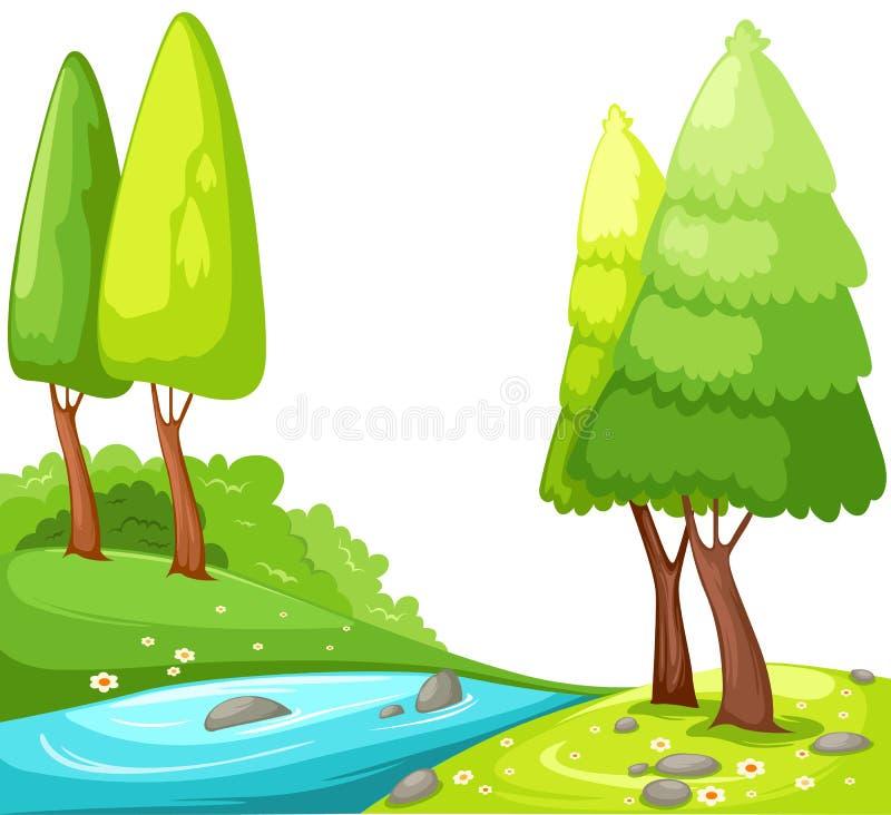 Countryside stock illustration