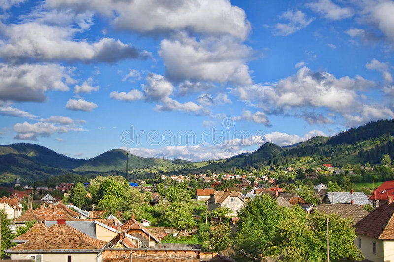 Download Countryside stock photo. Image of nature, landscape, cloudscape - 7740248