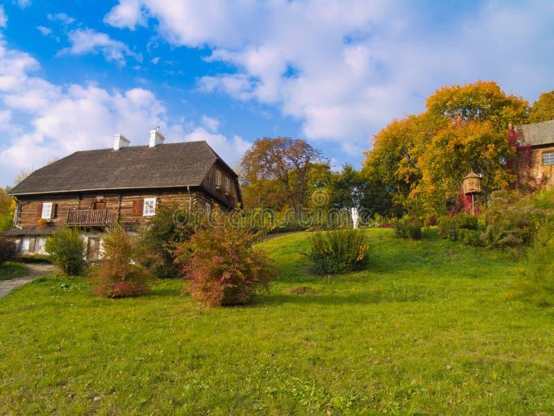 Countryside At Autumn, Poland Stock Image