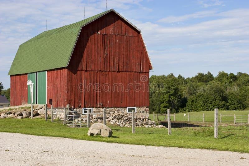 Countryside Barn royalty free stock photos