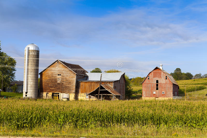 Countryside Farm Royalty Free Stock Images
