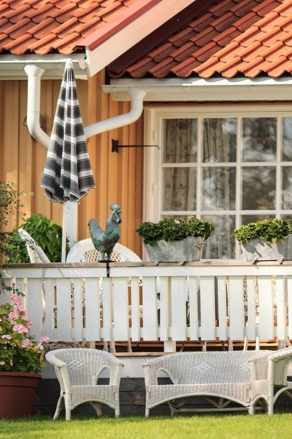 Swedish house royalty free stock photos