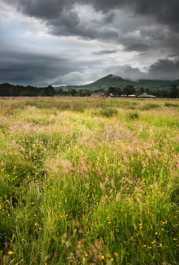 Download Countryside Landscape Across To Mountains Stock Photo - Image: 25837754