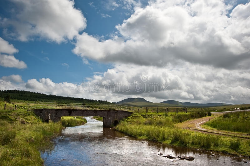 Download Countryside Landscape Across To Mountains Stock Image - Image: 25837915