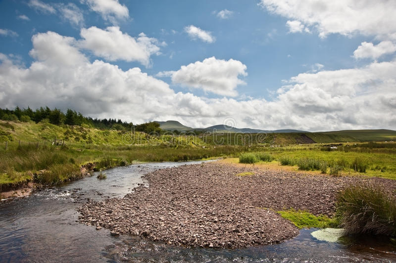 Download Countryside Landscape Image Across To Mountains Stock Image - Image: 25981069