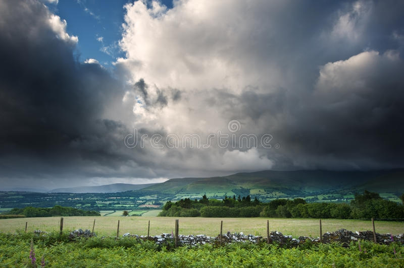 Download Countryside Landscape Image Across To Mountains Stock Image - Image: 26320539