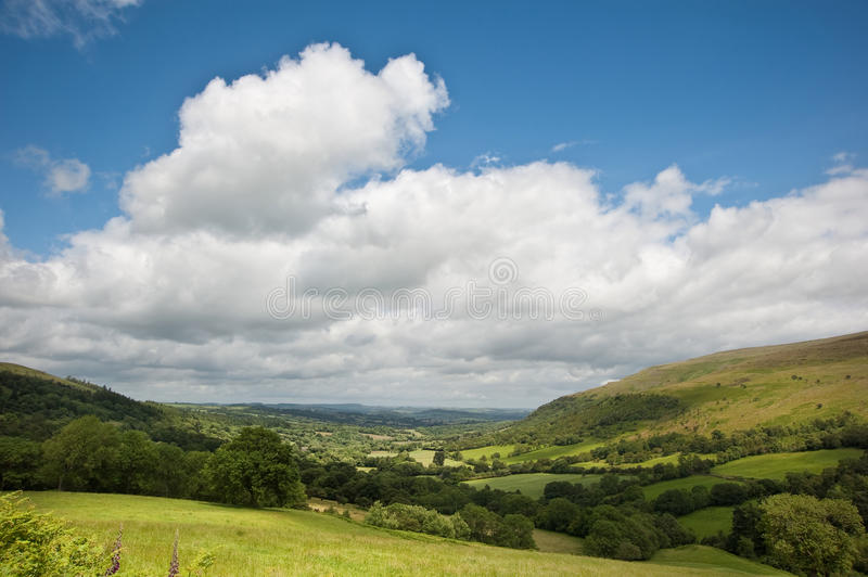 Download Countryside Landscape Image Summer Valley Stock Image - Image: 25744425