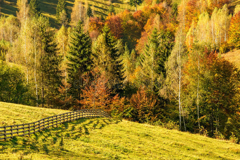 Countryside landscape in a romanian villlage royalty free stock photos