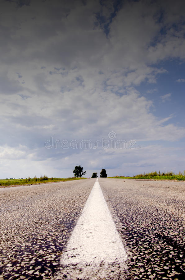 Download Countryside road and sky stock photo. Image of landscape - 20573960
