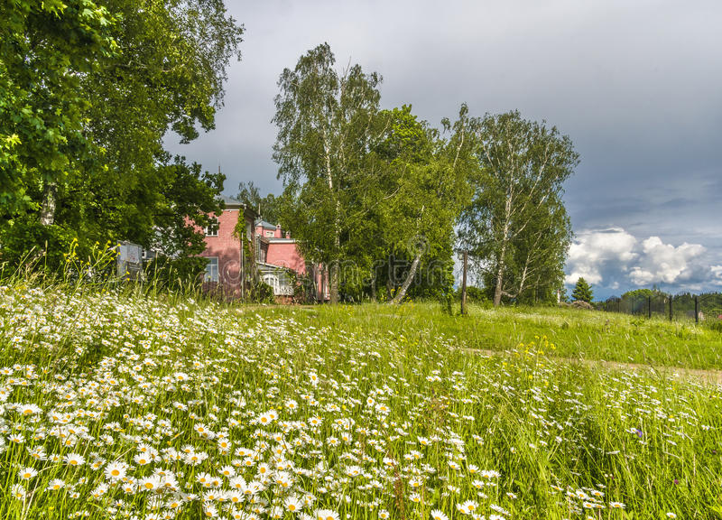 Countryside in Russia stock photos