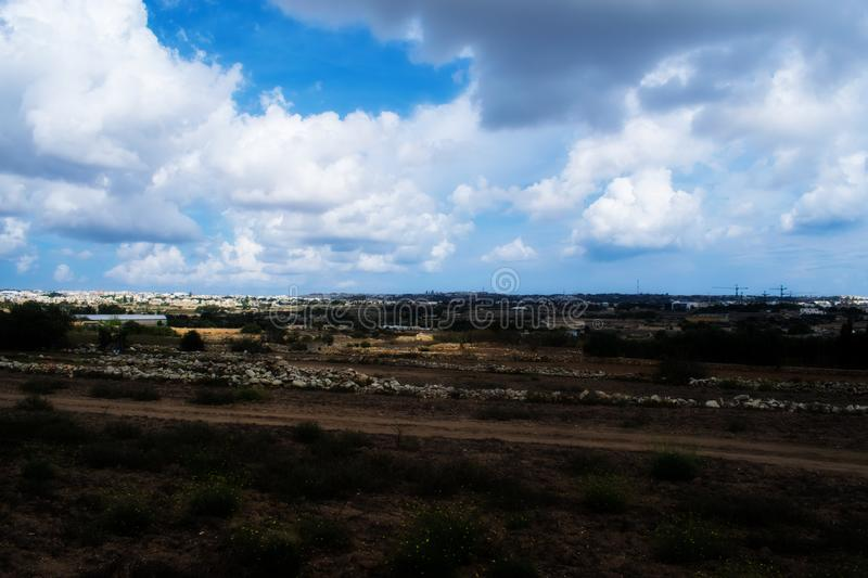 The Countryside in Zebbug, Malta. A look at the countryside and green areas of Zebbug and Qormi in Malta royalty free stock photography