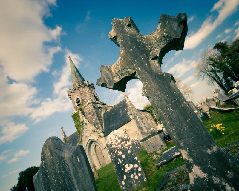County Cork Ireland Cemetary stock photography