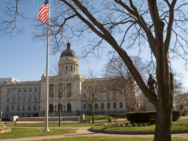 County Courthouse royalty free stock photos
