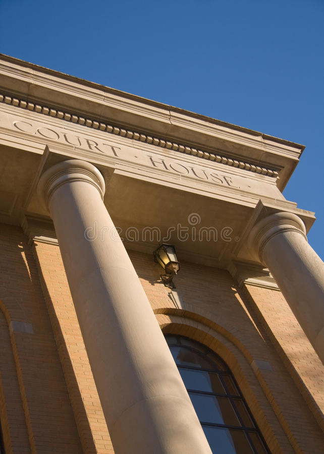 County Courthouse Building royalty free stock images