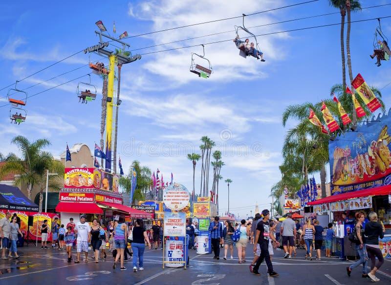 County Fair, San Diego California stock photos
