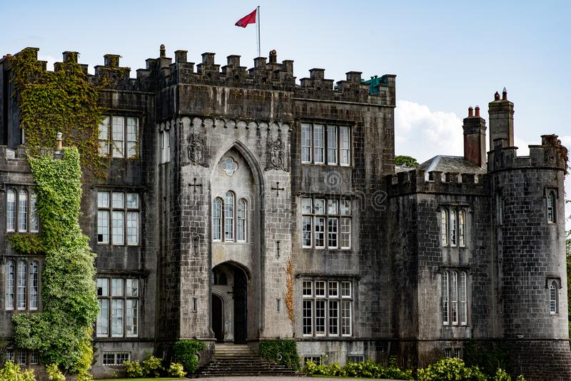 COUNTY OFFALY, IRELAND - AUGUST 23, 2017: Birr Castle in County Offaly, Ireland stock photos