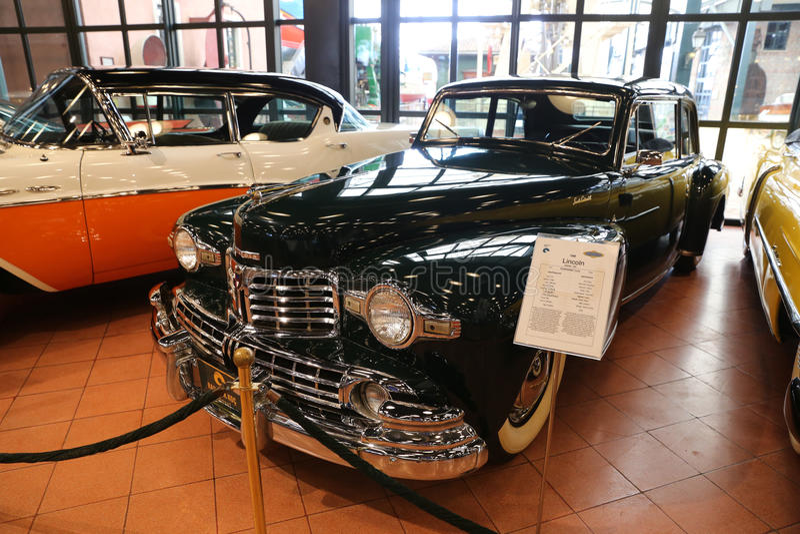 Coupé de Lincoln Continental images libres de droits
