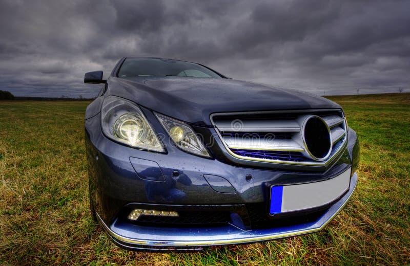 Coupé de luxe neuf de cgi de benz de Mercedes photos stock