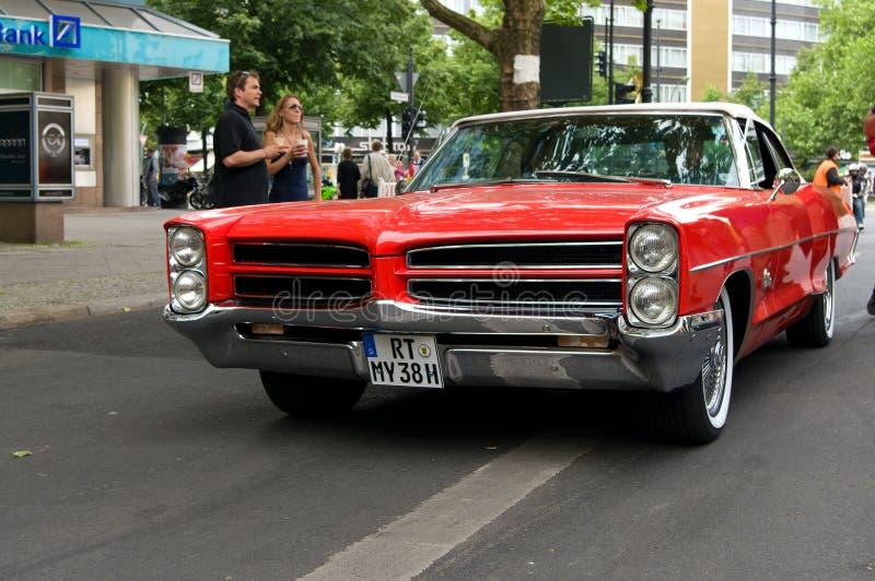 Coupé de Pontiac GTO de voiture de sport image libre de droits