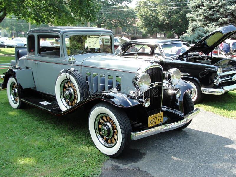 Coupé 1932 de sport d'Oldsmobile photographie stock libre de droits