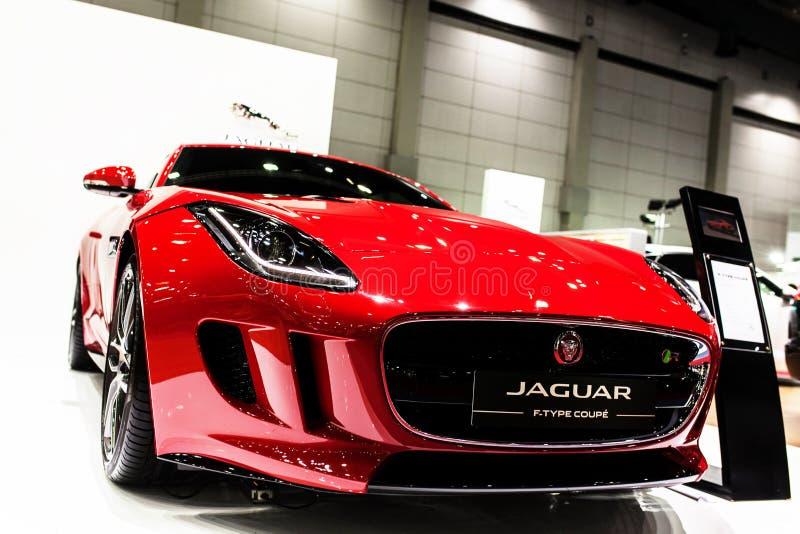 Coupé de type f de Jaguar photos libres de droits
