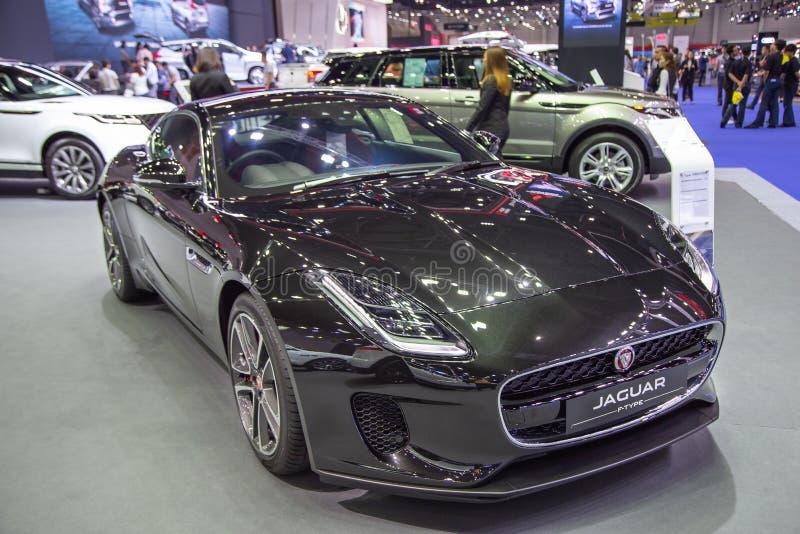 Coupé F tipo di Jaguar immagini stock