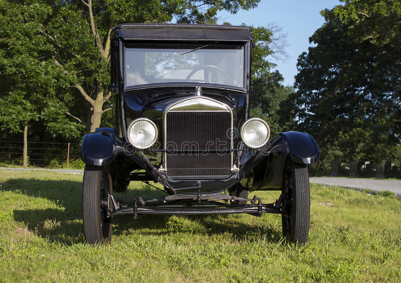 Coupé 1927 Ford Models T lizenzfreies stockbild