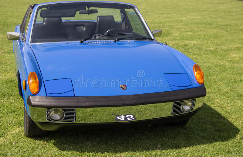 Coupé Porsches 914 stockbild