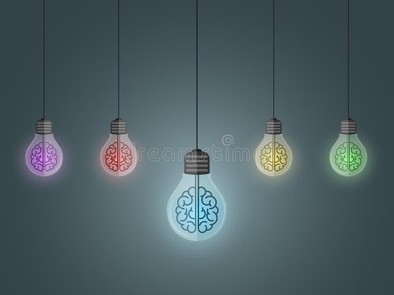 Coup d'ampoules illustration libre de droits