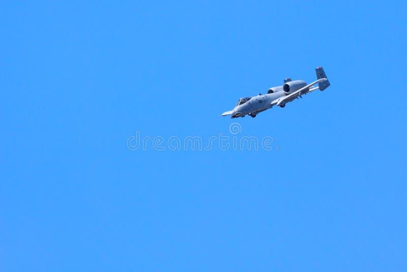 Coup de foudre A-10 image libre de droits