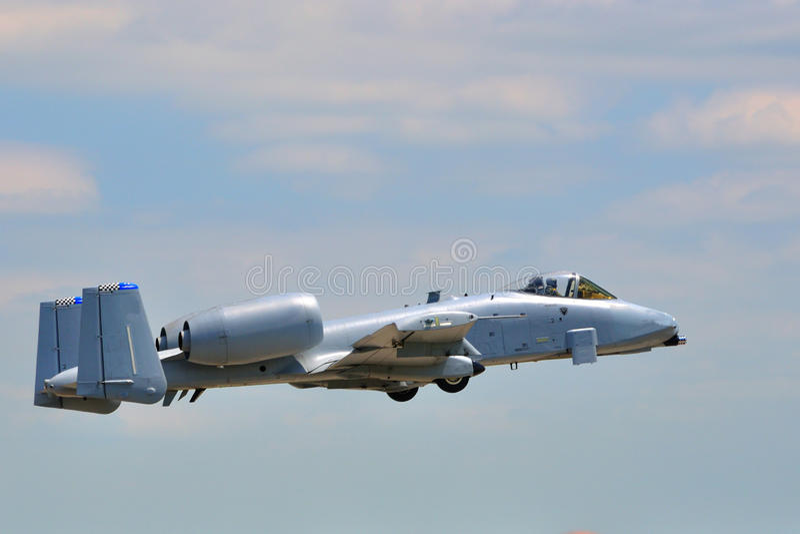 Coup de foudre II de la République A-10 de Fairchild photo stock