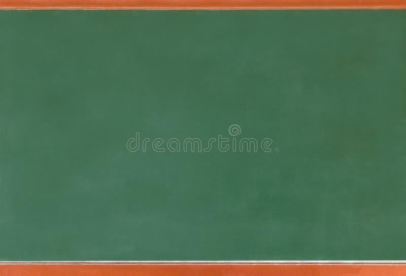 Coup vert vide de texture de tableau sur le mur blanc double cadre de greenboard et de fond blanc images stock