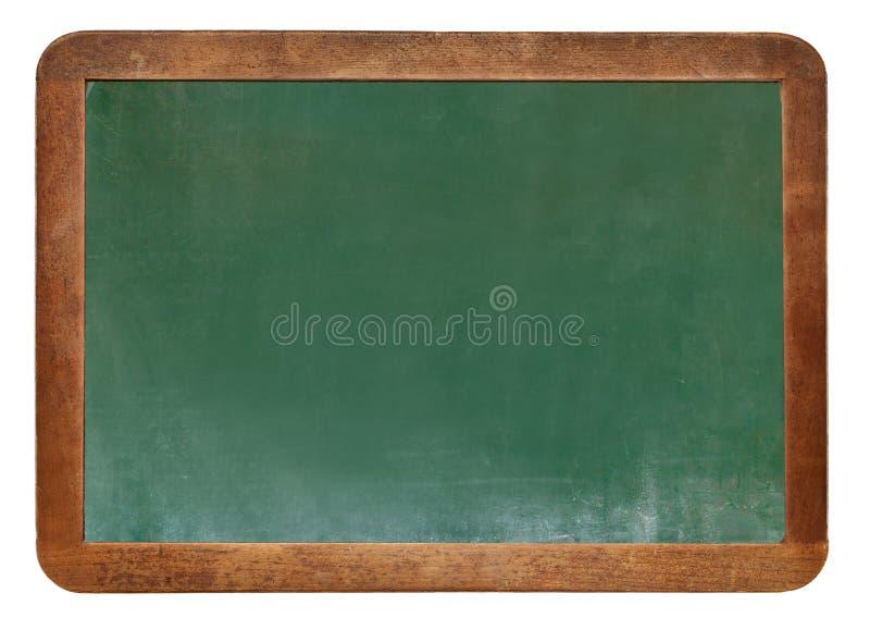 Coup vert vide de texture de tableau sur le mur blanc double cadre de greenboard et de fond blanc image pour le fond, wa photos libres de droits