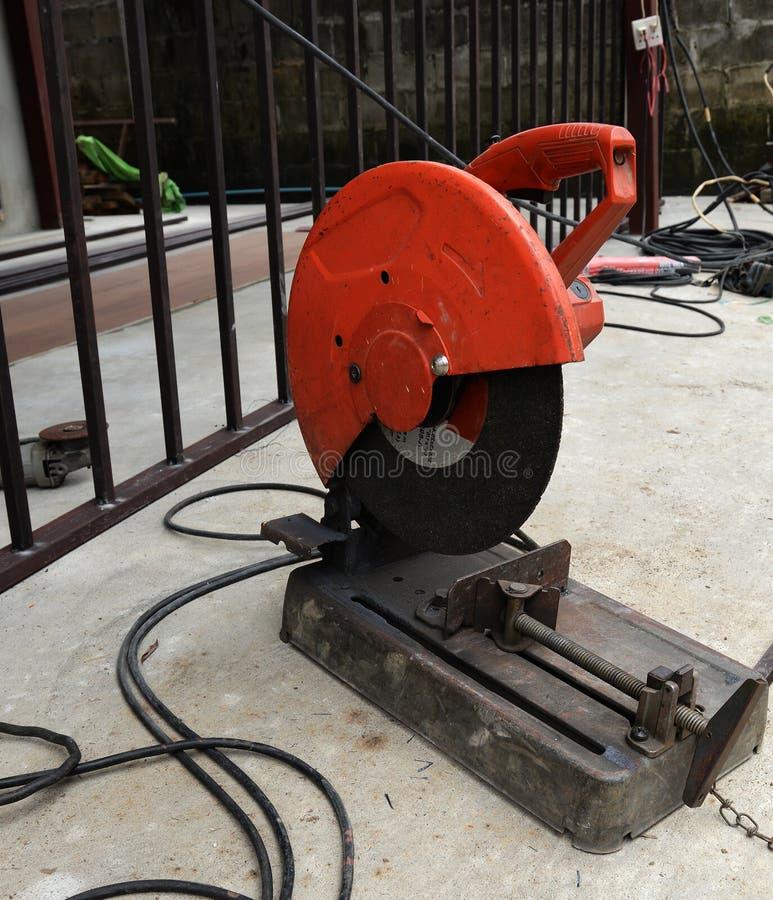 Coupe d'acier à outils photos stock